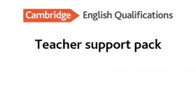 Teachers Support Pack