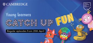 Young Learners Catch up Fun Webinars ***20th April***